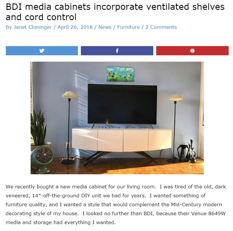 BDI Venue Cabinet Review - The Gadgeteer 20180426