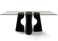 VOID Glass Dining Table