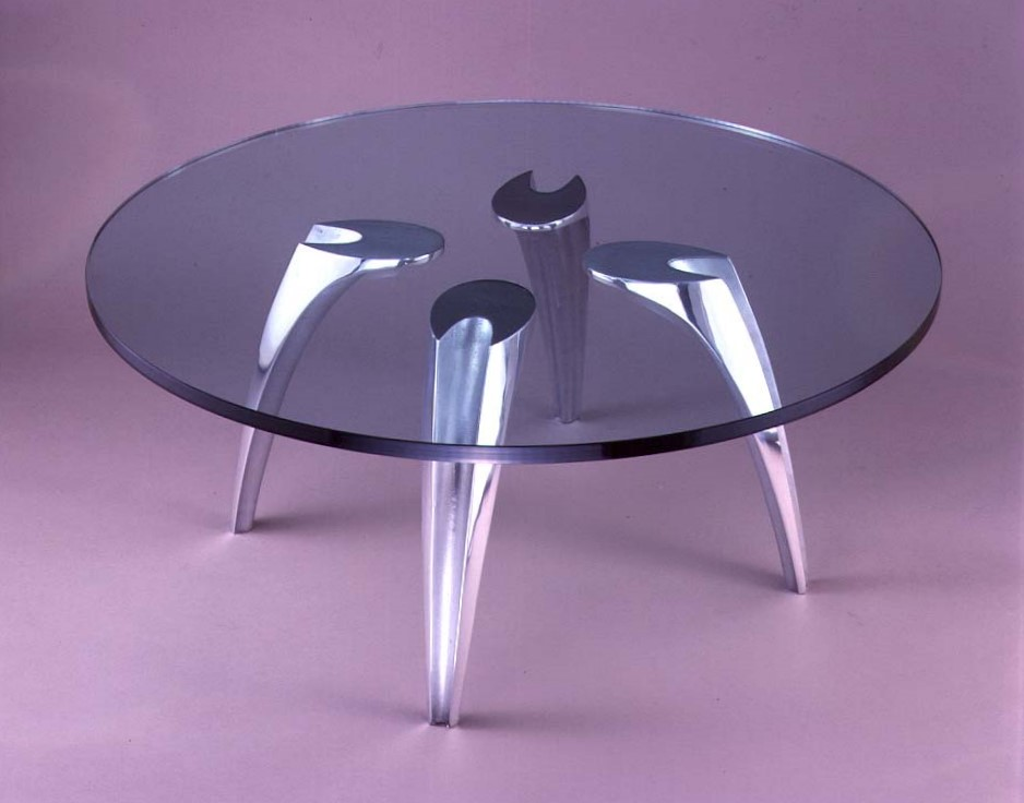 Ibiza Glass Table