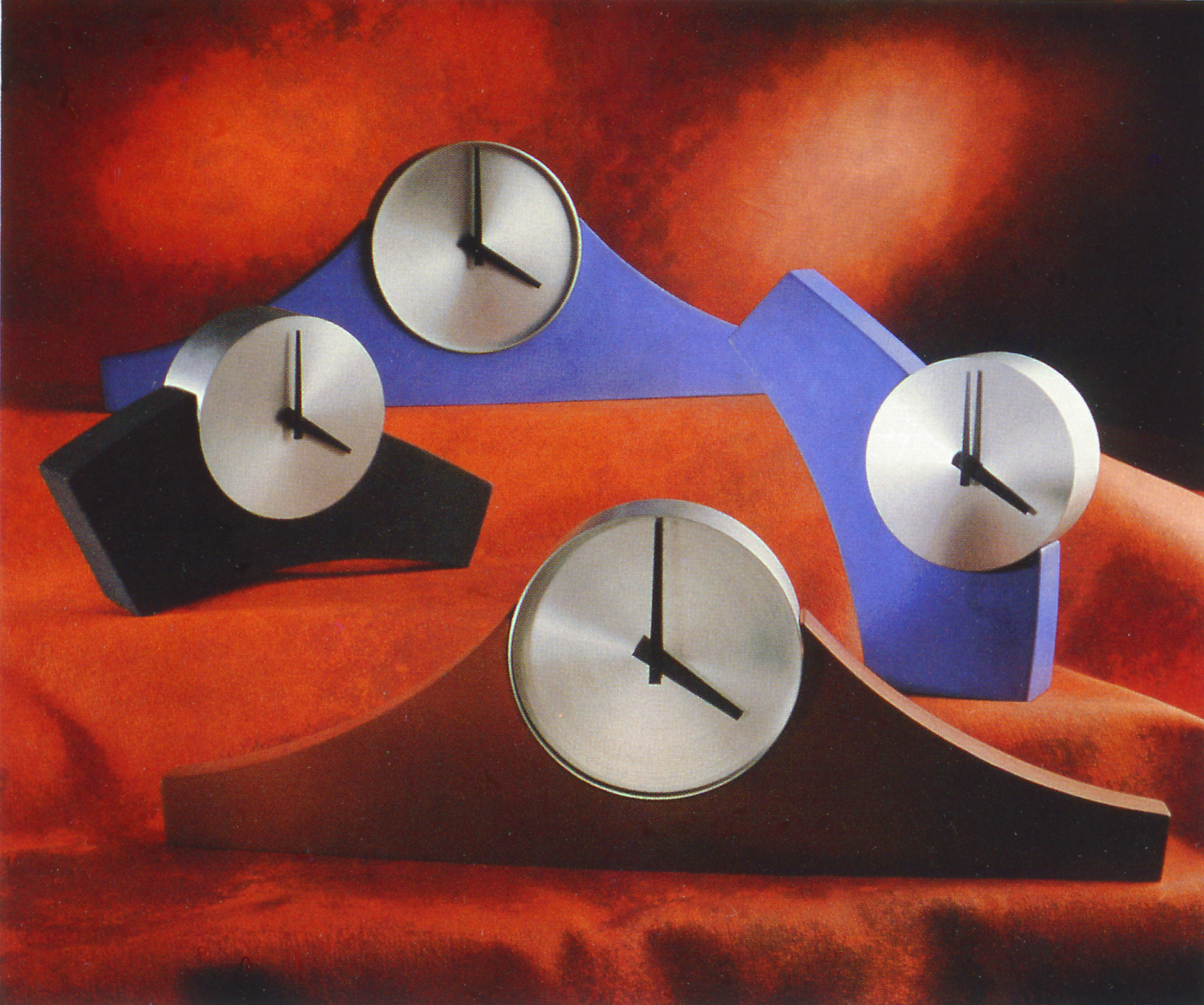 Arco + Manto Clocks