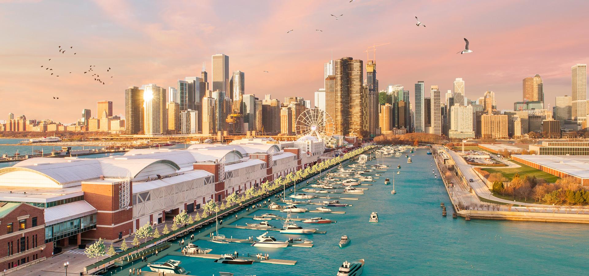Navy Pier Marina | Chicago, IL
