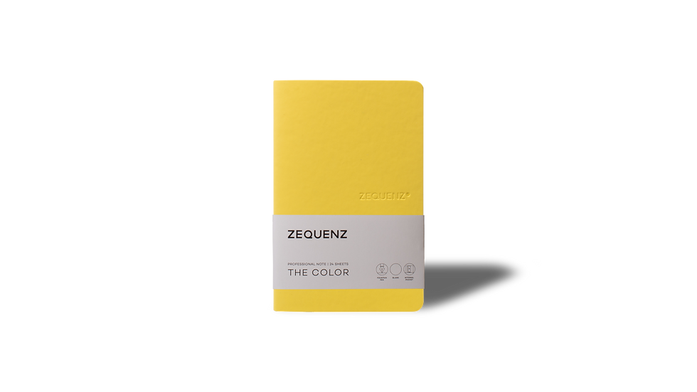 ZEQUENZ The Color Professional Note Mustard