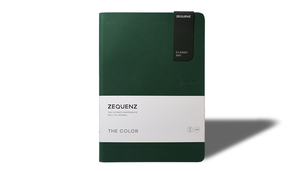 ZEQUENZ The Color A5 Emerald