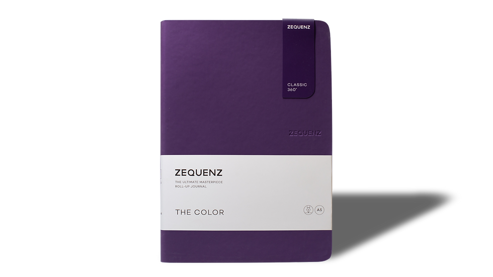 ZEQUENZ The Color A5 Scarlet Gum
