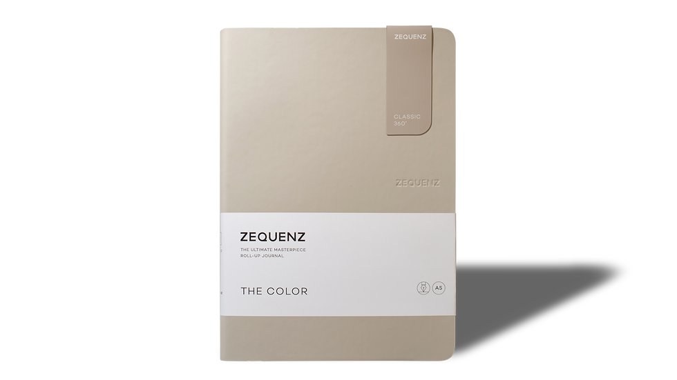 ZEQUENZ The Color A5 Taupe