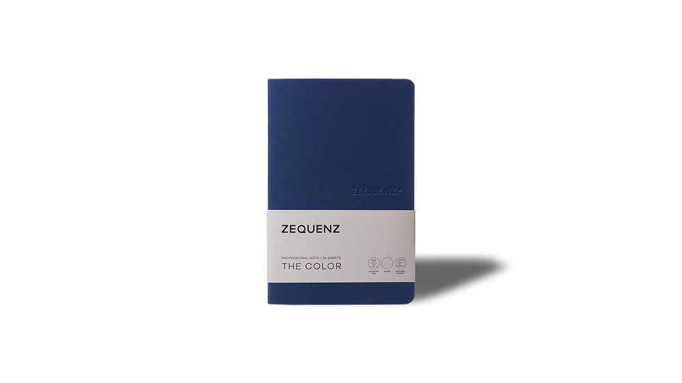 ZEQUENZ The Color Professional Note Dark Navy