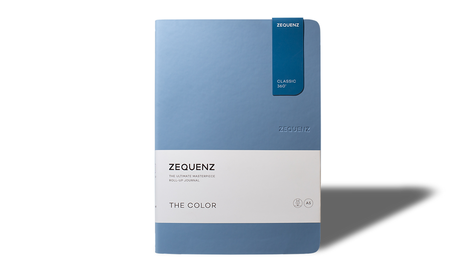 ZEQUENZ The Color A5 Light Blue