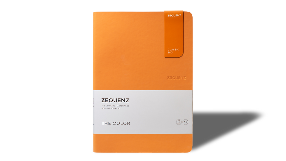 ZEQUENZ The Color A5 Apricot