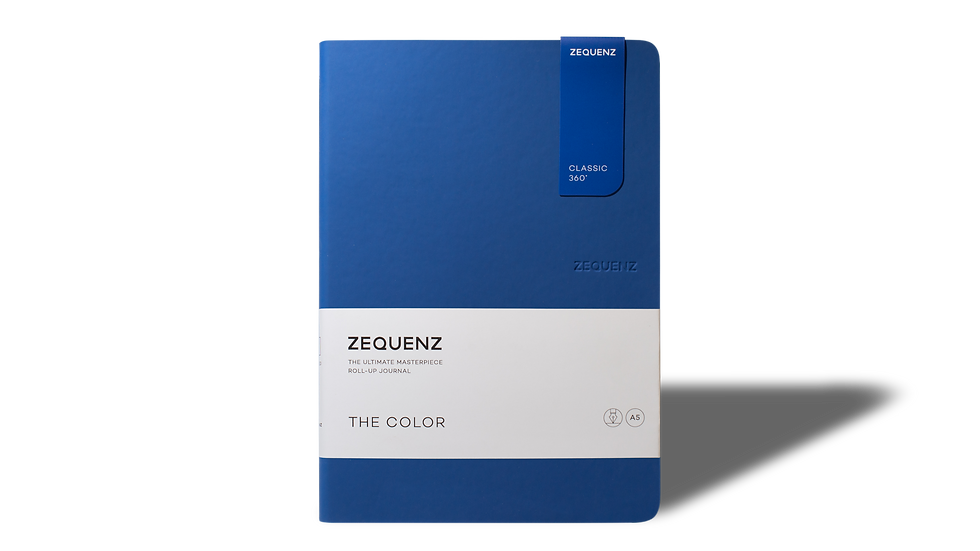 ZEQUENZ The Color A5 Royal Blue