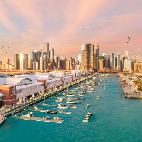 Edgewater Resources to design Navy Pier Marina