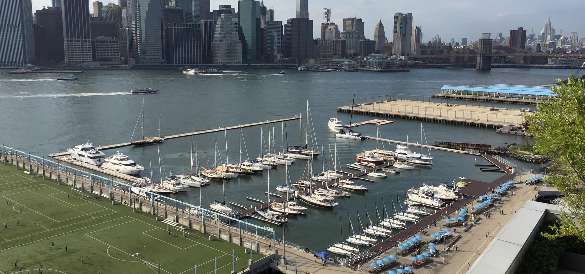 Brooklyn Bridge Park Marina | Brooklyn, NY