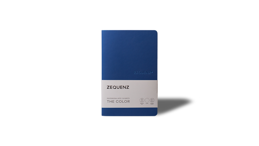 ZEQUENZ The Color Professional Note Royal Blue