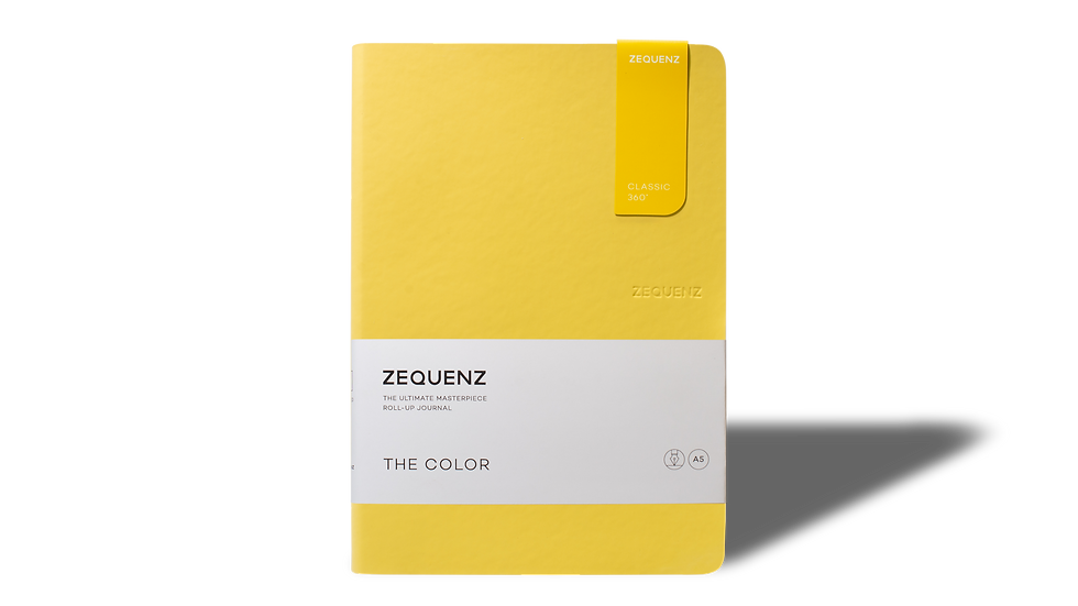 ZEQUENZ The Color A5 Mustard