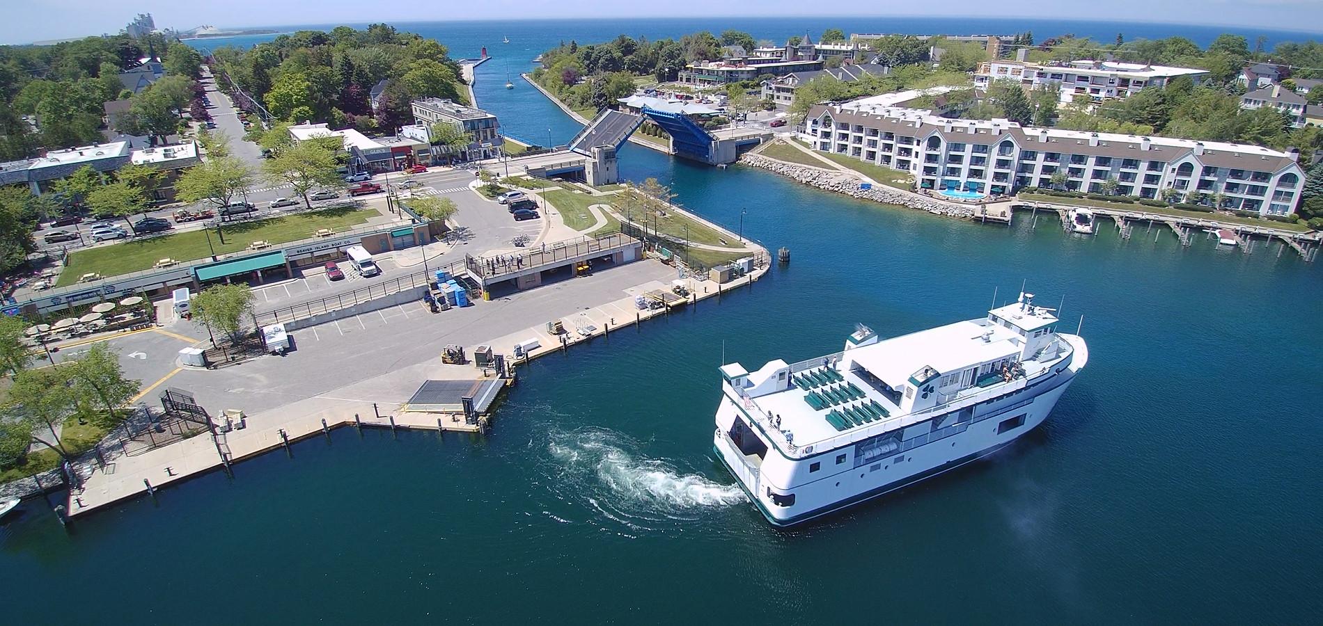 Charlevoix Ferry Relocation | Charlevoix, MI