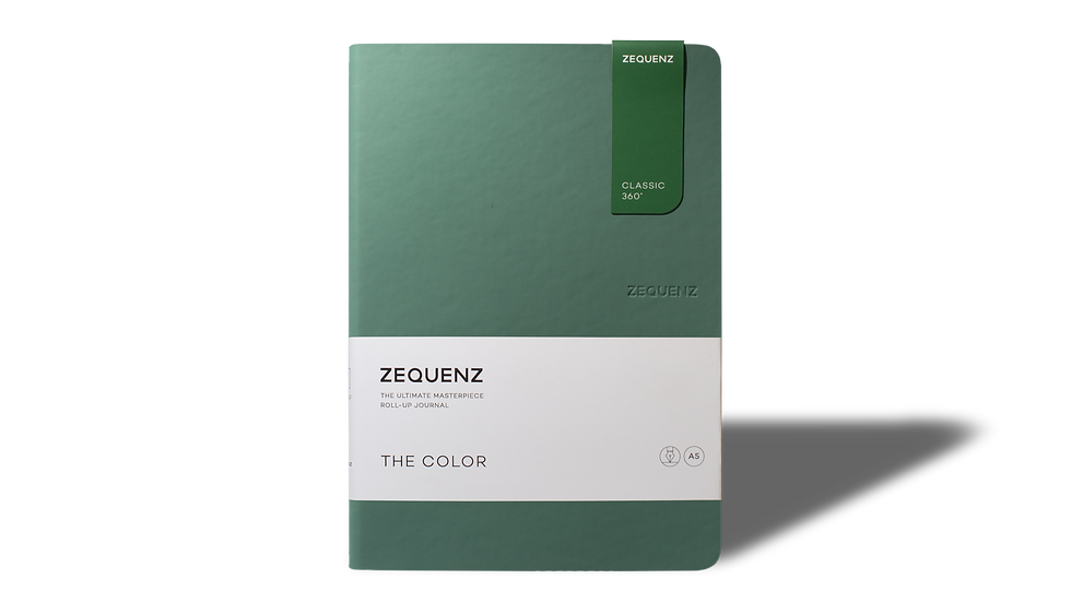 ZEQUENZ The Color A5 Jade