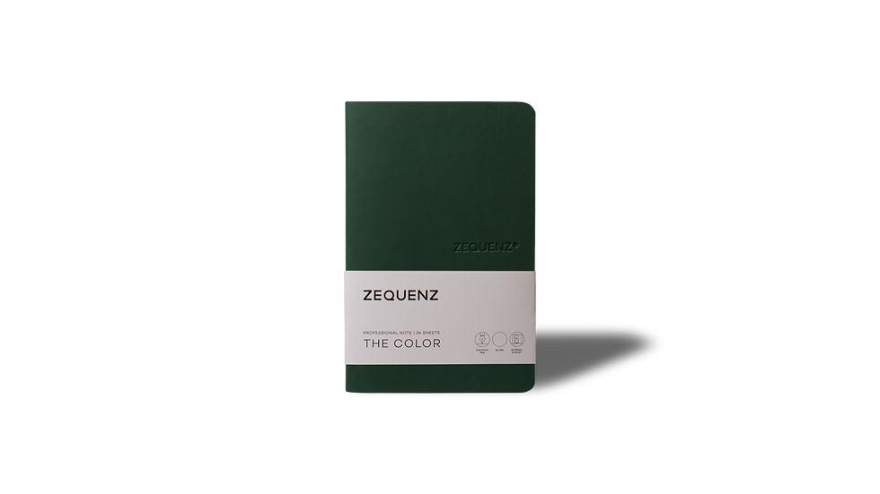 ZEQUENZ The Color Professional Note Emerald