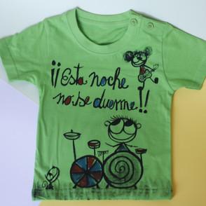 Camiseta No se duerme!
