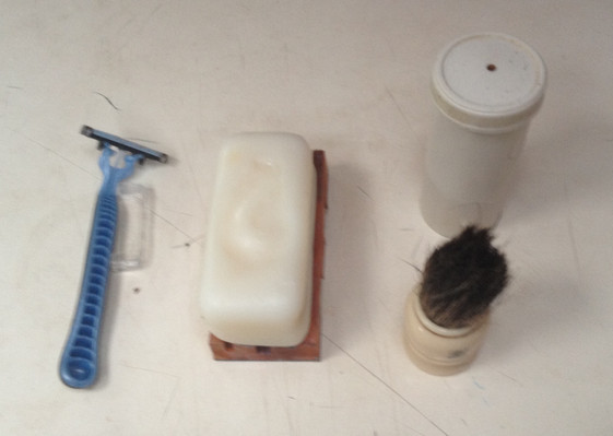 Shaving with Soap?