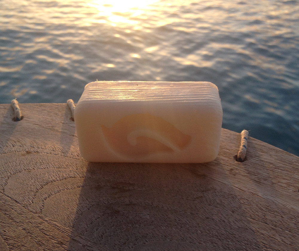 Seawater Soap on its first (hopefully of many) trips the the Caribbean