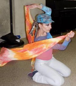 Silk Flag Circus Performance (BGSU)
