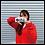 Thumbnail: AMI-GO RACING カッティングステッカー(小)