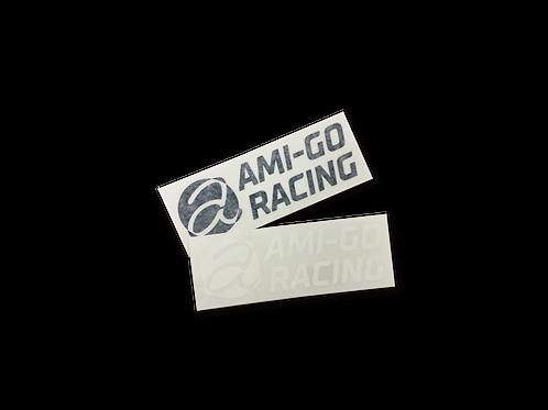 AMI-GO RACING カッティングステッカー(小)