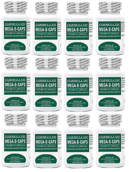 12 Pack of Mega - B - Caps