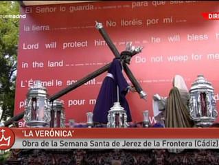 'La Verónica', de Francisco Pinto Berraquero, en el Vía Crucis de la JMJ 2011.