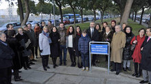Jerez dedica un bulevar a Francisco Pinto Berraquero en la avenida de Europa