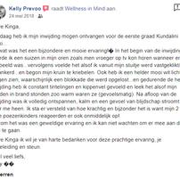 Recensie Kelly Prevoo FB Kundalini Reiki