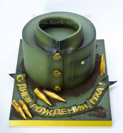 Торт солдату