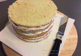 Сборка торта под мастику