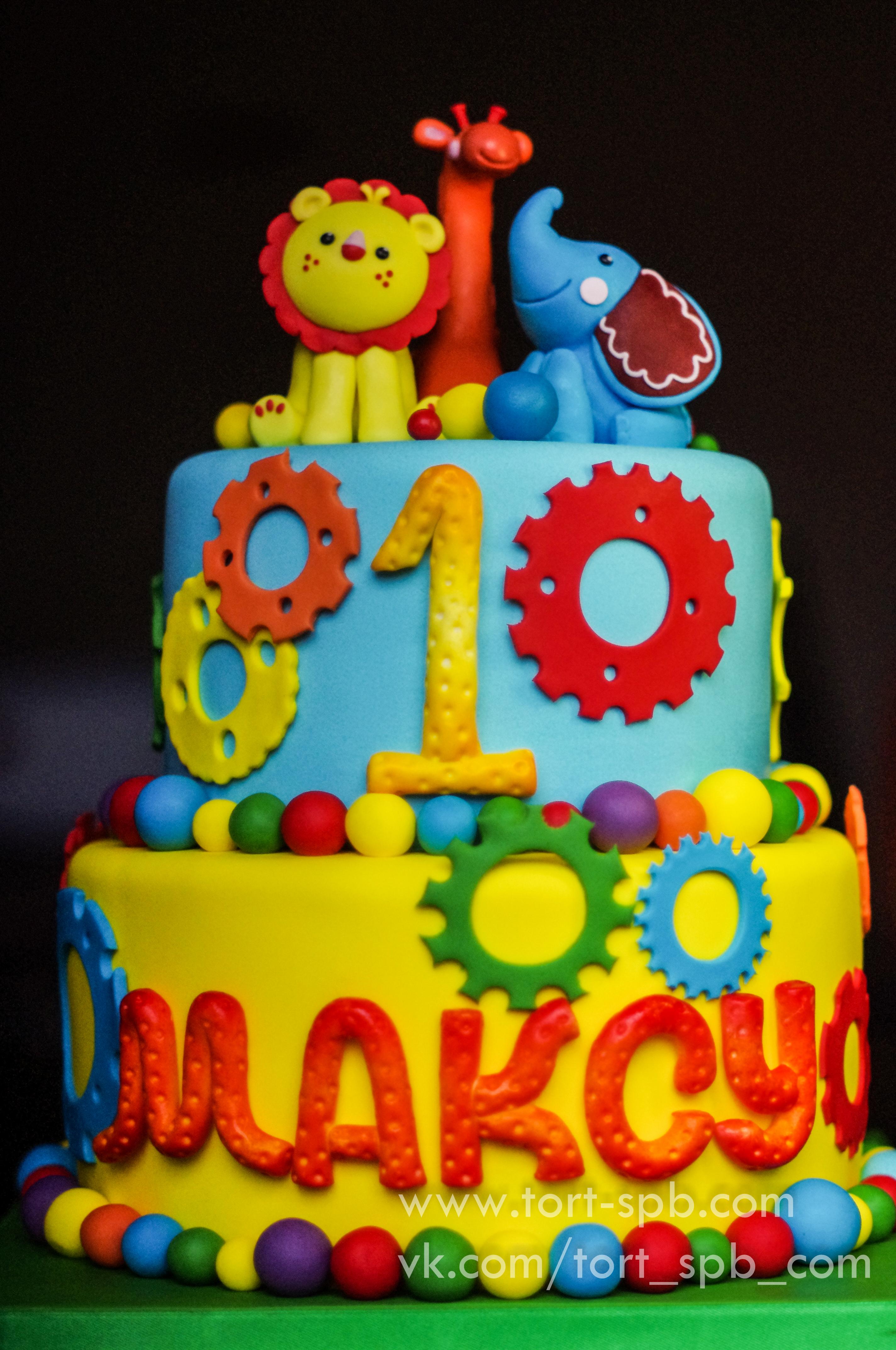 Торт с любимыми игрушками #ТортПоЭск