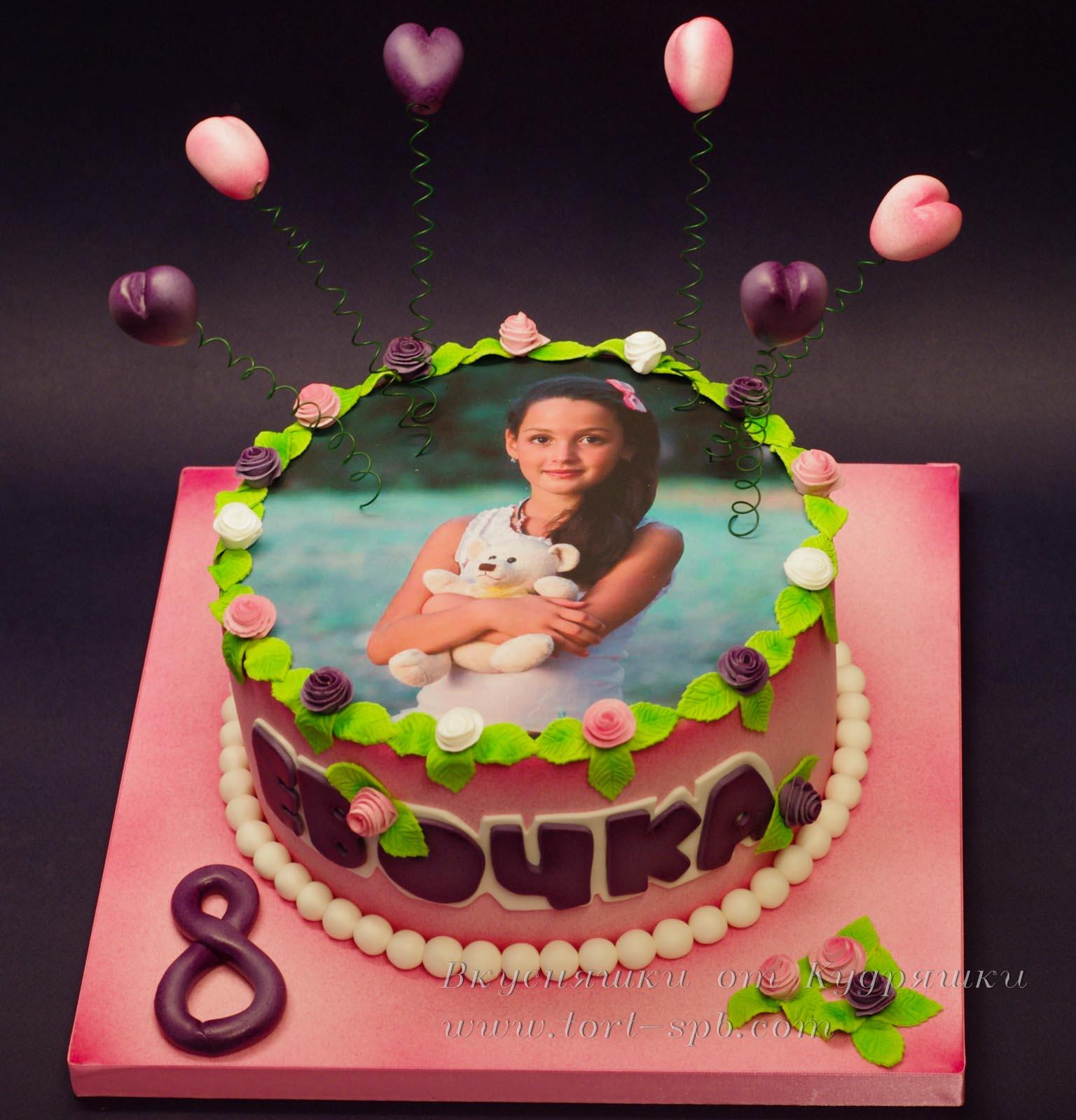 Фото-торт