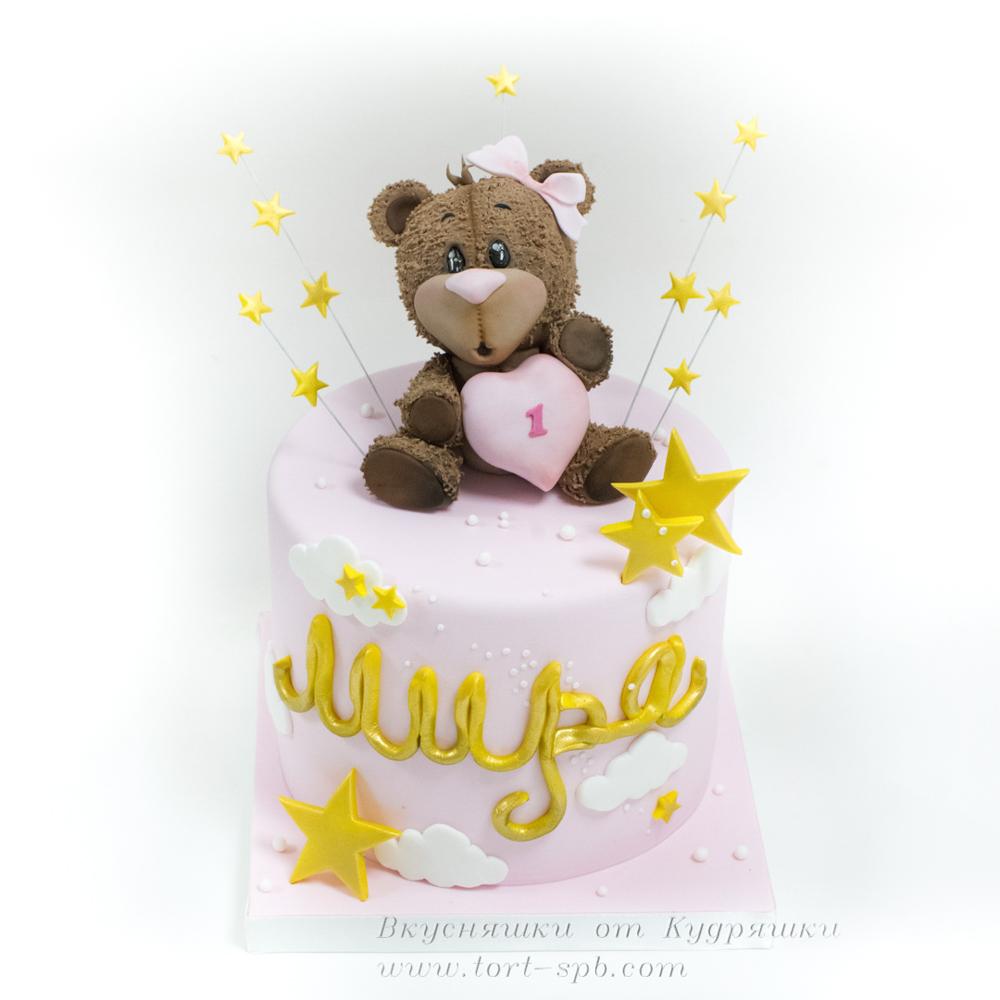 Торт с медвежонком