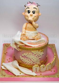 Торт с малышом