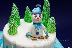 Торт для лыжника, сноубордиста