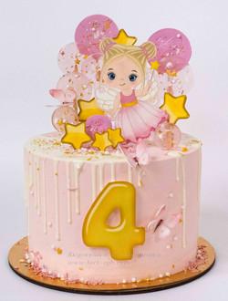 Торт девочке с феей