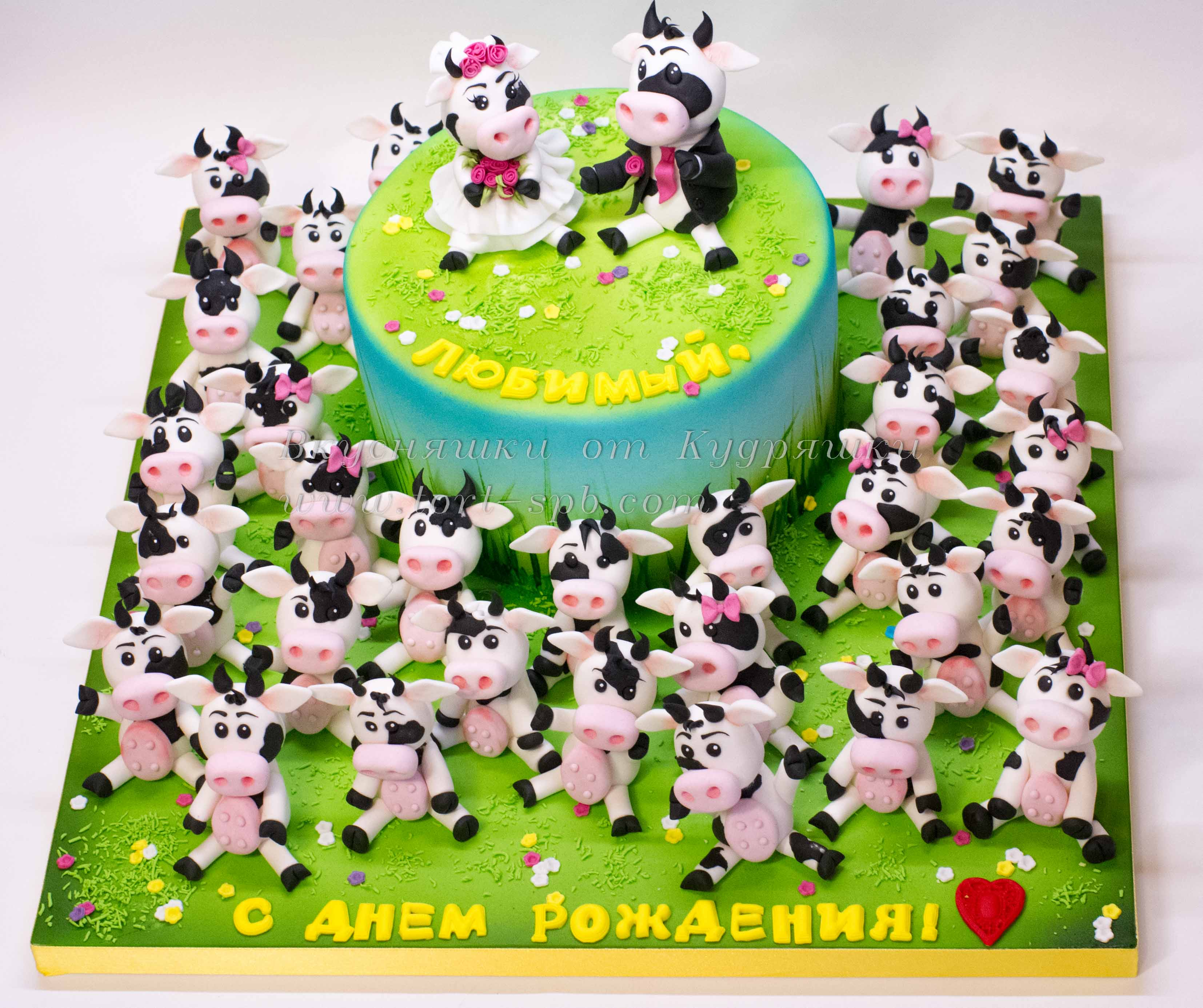 Торт 33 коровы