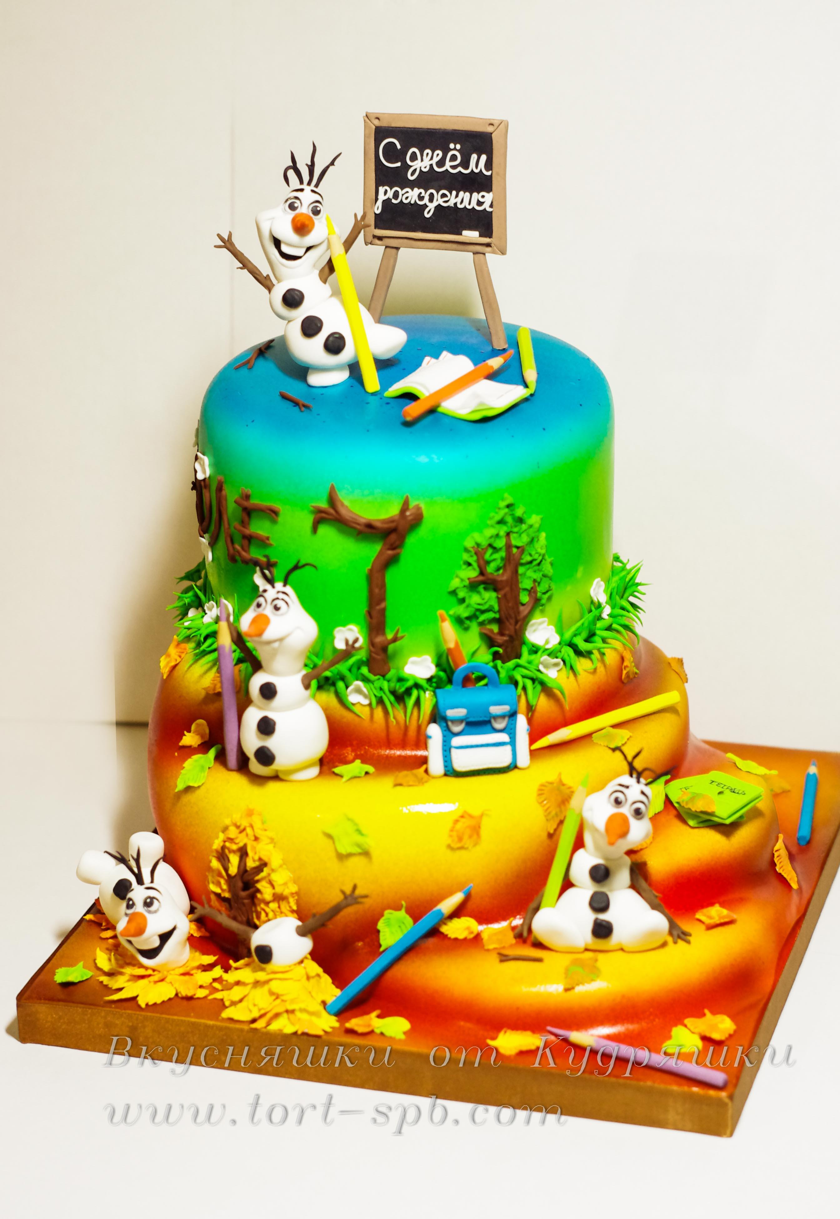 Торт к 1 сентября