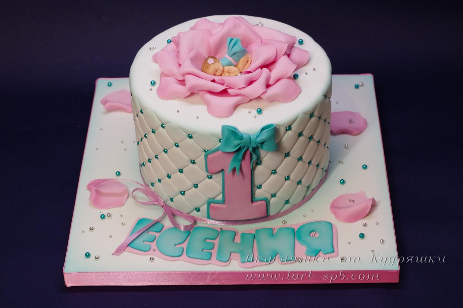Торт малышу на годик