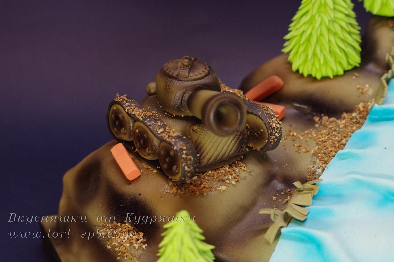 Торт к Дню защитника отечества