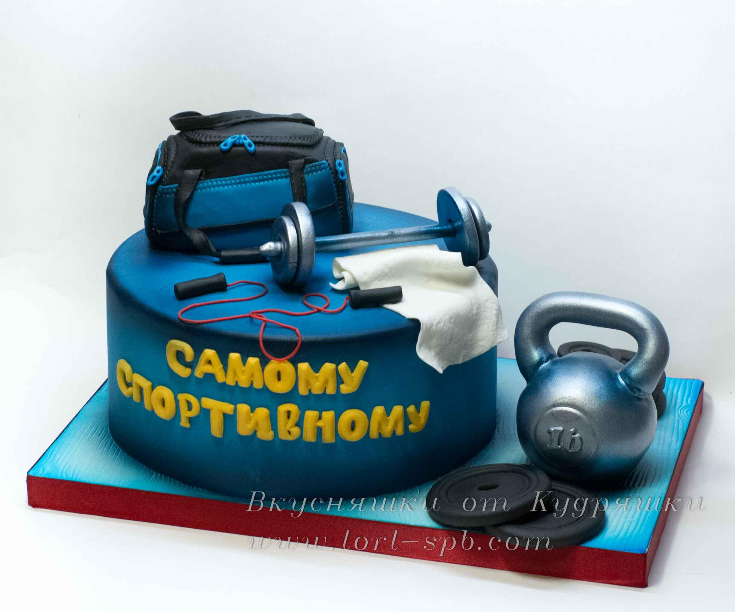Торт фитнес