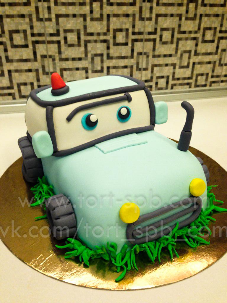 "Торт ""Трактор"""