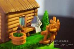 Торт Баня на даче