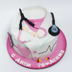 торт врачу