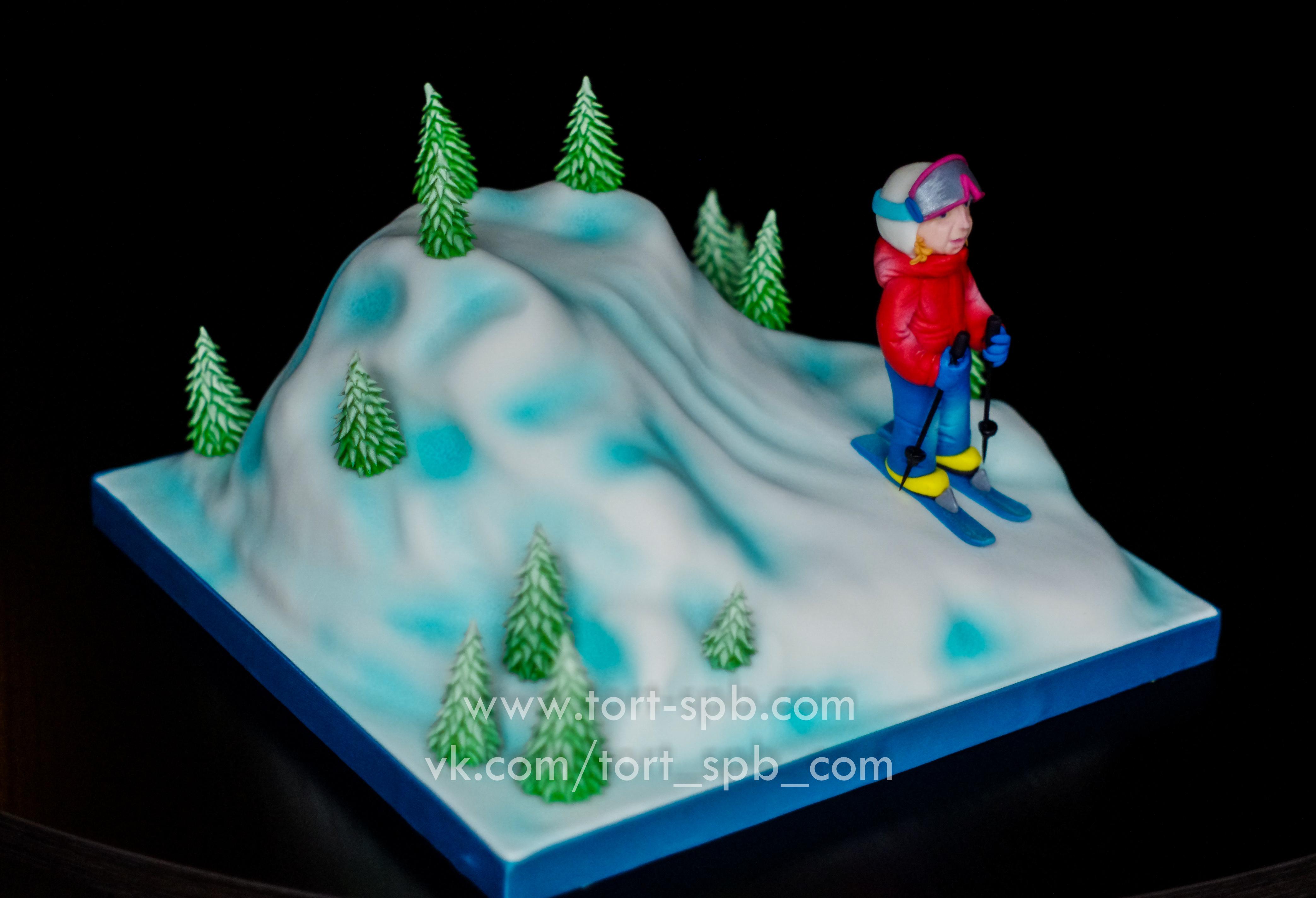 """Торт """"Лыжнику"""""""