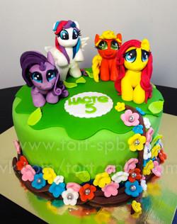 Торт My little pony