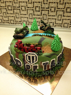 "Торт ""World of tanks"""