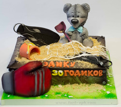 Торт Песочница